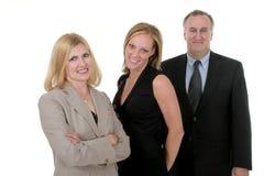 Squadra per tre persone 2 di affari Immagine Stock