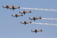 Squadra polacca della visualizzazione di aria di ORLIK Fotografia Stock