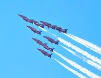 Squadra rossa della visualizzazione delle frecce 2011 Fotografie Stock