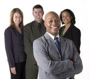 Squadra sicura di affari Immagini Stock Libere da Diritti