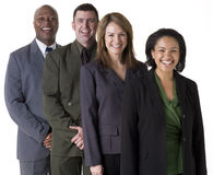 Squadra sicura di affari Immagine Stock Libera da Diritti