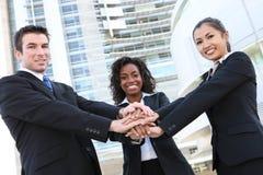 Squadra varia di affari Immagine Stock