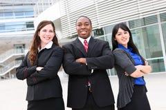 Squadra varia di affari all'ufficio Fotografie Stock Libere da Diritti