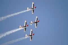 Squadre degli aeroplani Immagine Stock Libera da Diritti