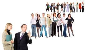 Squadre di affari Fotografia Stock