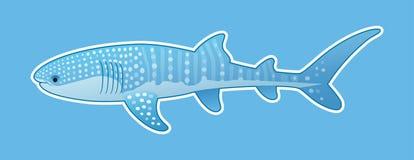 Squalo balena divertente Fotografia Stock