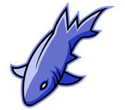 Squalo blu royalty illustrazione gratis