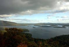 squam озера Стоковое Изображение
