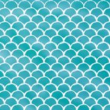 Fish scale and mermaid background. Squama on trendy gradient background. Square backdrop with squama ornament. Bright color transitions. Mermaid tail banner and Stock Photography