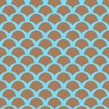 Squamapatroon van de kleur Royalty-vrije Stock Fotografie