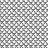 Squame senza cuciture del fiume di gradazione di grigio Fotografie Stock Libere da Diritti