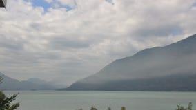 Squamish入口看法  库存图片