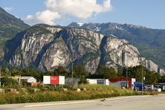 Squamish Stawamus szef Obraz Stock