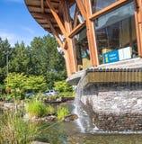Squamish visinor centre Zdjęcie Stock