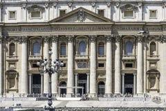 Squar St Peter, Ватикан, Рим Стоковое Фото