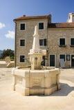 Square. In Herzog Novi, Montenegro Stock Photo