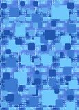 Square. Abstract background from blue squares Royalty Free Stock Photography