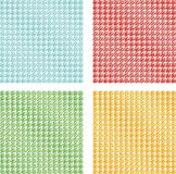 Square. Four different squares like a tablecloth Royalty Free Stock Photo