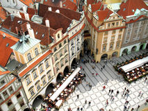 Square. One of the main square in Prague stock photos