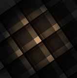 Square absract geometrical abstract background.  Stock Image