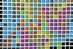 Square abstract. Abstract geometric composition stock image