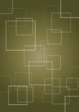 Square abstract background. With overlapping shapes Royalty Free Stock Image