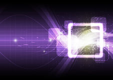 Square abstract background Royalty Free Stock Photography