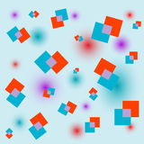 Square abstract background. Vector. Square abstract background. With additional  format Stock Image