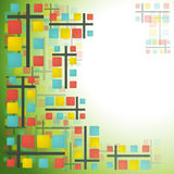 Square abstract background Royalty Free Stock Photo