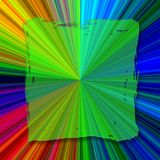 Square Abstract color background. Square absract background in bright neon colors Stock Illustration