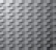 Paper square 11 gray. Square abstract  dark texture, 3d vector background Royalty Free Stock Images