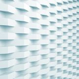 Relief pattern over wall. Blue toned 3d. Square abstract digital background, relief pattern over wall. Blue toned 3d render illustration Royalty Free Stock Photo