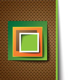 Square abstract template / icon Stock Photos