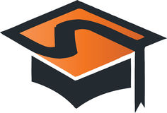Square Academic Cap Royalty Free Stock Photography