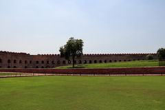 The square of Agra fort Royalty Free Stock Image