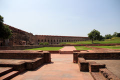 The square of Agra fort Royalty Free Stock Photography