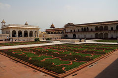 The square of Agra fort Royalty Free Stock Images