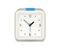 Square alarm clock icon Royalty Free Stock Images