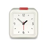 Square alarm clock icon Stock Photo