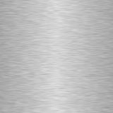 Square aluminium metal background Stock Photos