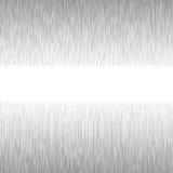 Square aluminium metal background. Square format Stock Photo