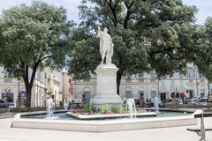 Square Antonin Nimes France Royalty Free Stock Photo