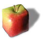 Square Apple Stock Photo