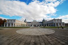 Square of aranjuez Royalty Free Stock Photo