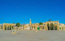 The square around the Dome of the Rock Stock Photo