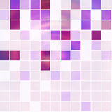 Square backgount. Abstract light violet squares background Stock Illustration