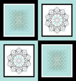Square background Royalty Free Stock Photos