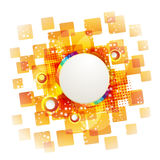 Square background Stock Photography