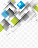 Square background concept vector Stock Photography