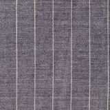Square background from gray striped woolen fabric Stock Photography
